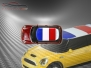 Mini Cooper S - Flag series - France - Red