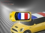 Mini Cooper S - Flag series - France - Yellow