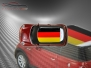 Mini Cooper S - Flag series - Germany - Red