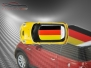 Mini Cooper S - Flag series - Germany - Yellow