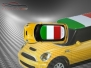 Mini Cooper S - Flag series - Italy - Yellow