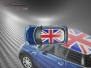 Mini Cooper S - Flag series - UK - Blue