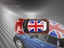 Mini Cooper S - Flag series - UK - Red