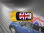 Mini Cooper S - Flag series - UK - Yellow