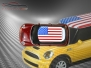 Mini Cooper S - Flag series - USA - Red