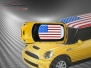 Mini Cooper S - Flag series - USA - Yellow